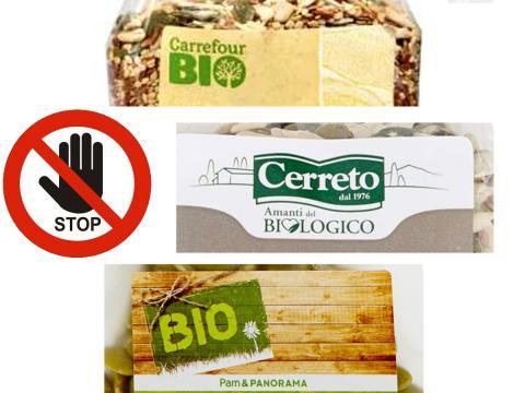 Continuano i richiami per prodotti con semi di sesamo. Coinvolti prodotti Cerreto a marchio Pam Panorama, Cerreto e Carrefour