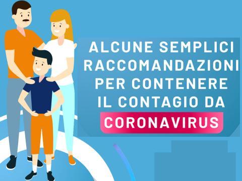 Coronavirus: le ultime nuove regole del Ministero per contenere il contagio in un manifesto da appendere