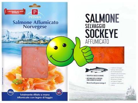 Listeria sotto i limiti di legge. Revocati i richiami del salmone affumicato Primia e del Salmone Selvaggio Sockeye affumicato