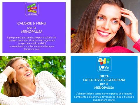 Menopausa? Due programmi alimentari personalizzabili sono ora online e gratis sul sito Educazione Nutrizionale Grana Padano