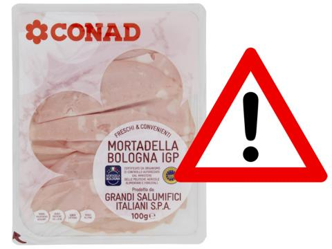 Mortadella IGP Conad: richiamato un lotto