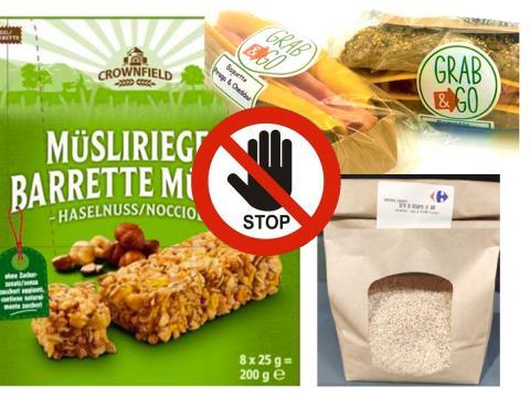 Nuovi richiami di prodotti con semi di sesamo con ossido di etilene. Li segnalano Lidl, Carrefour e Penny Market