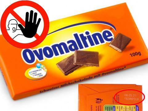 Questa volta è nel cioccolato Ovomaltine la possibile presenza di corpi estranei. Cosa fare nel caso di acquisto