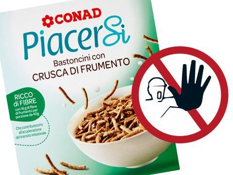 Rischio chimico per i Bastoncini con crusca di frumento CONAD