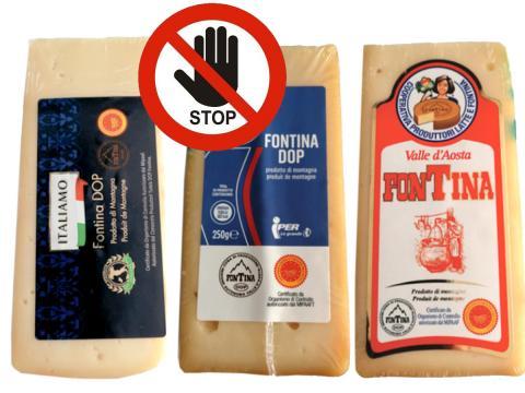 Rischio Escherichia coli STEC in Fontina DOP Iper, Etichetta Rossa e Italiamo