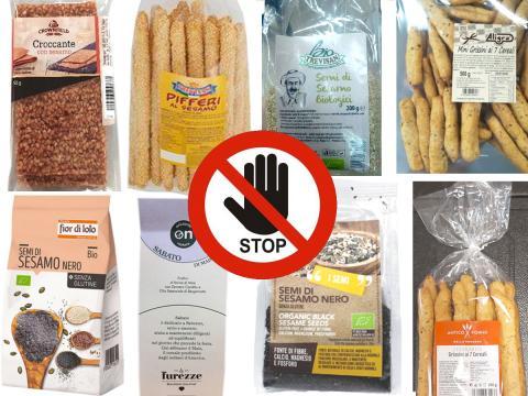 Ritirati altri prodotti con semi di sesamo contaminati. Richiami da Lidl, Coop, NaturaSì e non solo