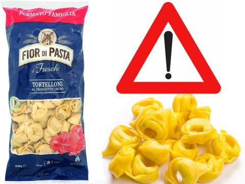 Tortelloni al prosciutto crudo: Penny Market richiama un lotto per presunta contaminazione