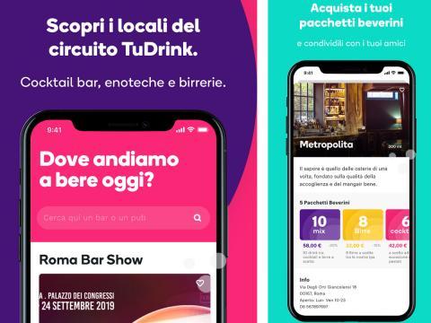 TuDrink: la nuova app per bere bene nei locali migliori