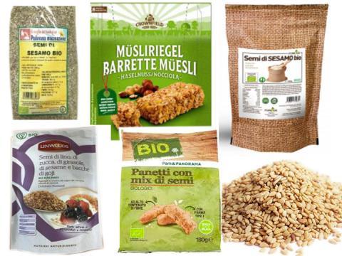 Ulteriori richiami per prodotti contenenti semi di sesamo a rischio microbiologico. Coinvolti vari marchi